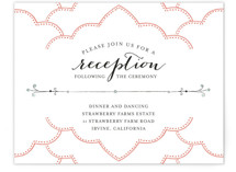 Striped Sweet Nothings Reception Cards