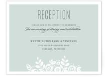 White Shadows Reception Cards
