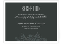 White Shadows Reception Cards