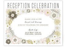 Flower Box Reception Cards
