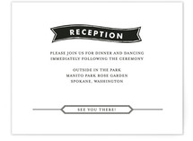 Wildflower Label Reception Cards