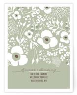 Winter Florals Reception Cards
