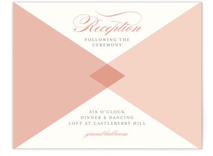 Mingle Graphic Reception Cards