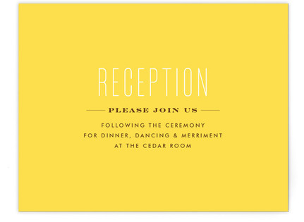 Simply Us Reception Cards