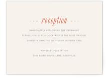 Waverly Reception Cards