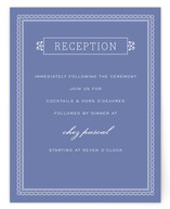 Time and All Eternity Reception Cards