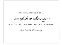 Dapper Amper Reception Cards