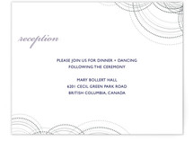 Intricate Reception Cards
