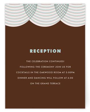 fanfare Reception Cards