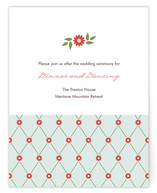 Sweet Chapel Reception Cards
