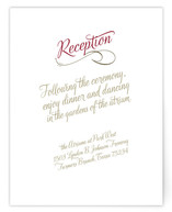 Just My Type Reception Cards