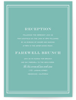 Country Club Reception Cards
