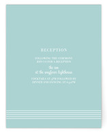 simply stripes Reception Cards