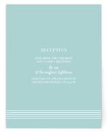 simply stripes Reception Cards