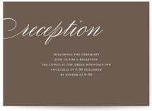 Sweet Scallop Reception Cards