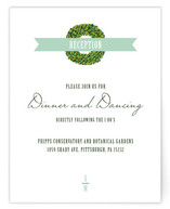 Boxwood Reception Cards