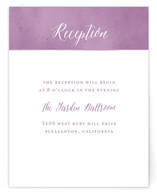 Paint Swatch Reception Cards