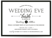 Wedding Eve Bash