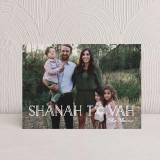 Art Deco Shanah Tovah Rosh Hashanah Postcards