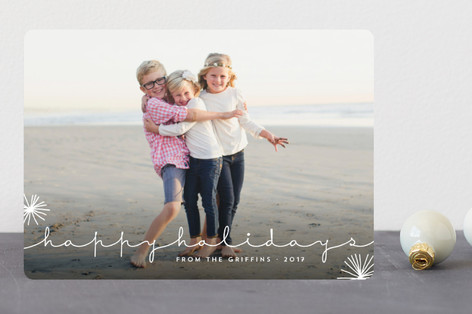 Nonchalant Christmas Photo Cards