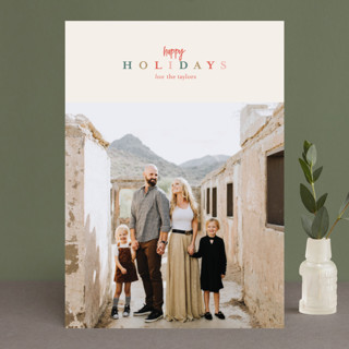 Merry Colors Christmas Photo Cards