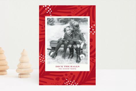 Sprinkled Christmas Photo Cards