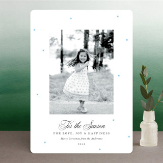 Starry Chapel Christmas Photo Cards