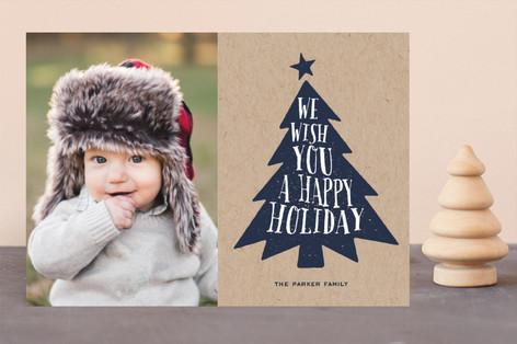 Krafty Tree Christmas Photo Cards