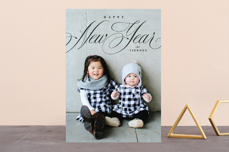 naples New Year's Photo Cards