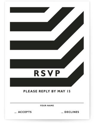 Desenfadado RSVP Postcards