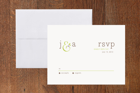 What A Pair RSVP Cards