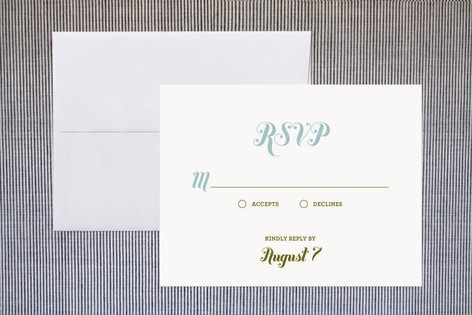 Buttery RSVP Cards