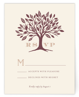Enchanted RSVP Cards