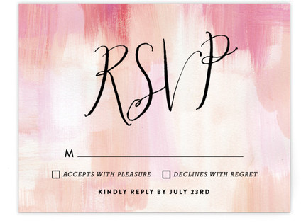 Gallery Love RSVP Cards