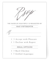 Opulence RSVP Cards