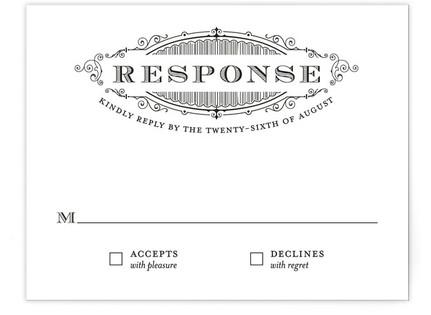 Eloquent RSVP Cards
