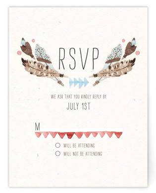 Dream Catcher RSVP Cards