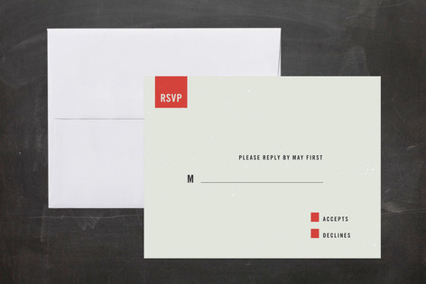 Modern RSVP Cards