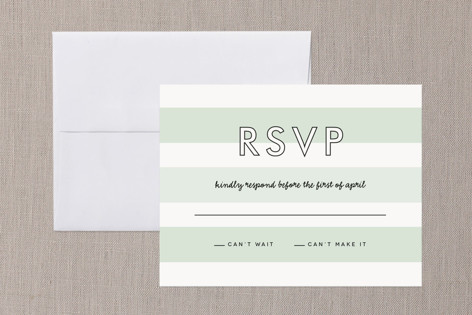 Read Between the Lines RSVP Cards