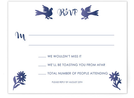 Otomi RSVP Cards