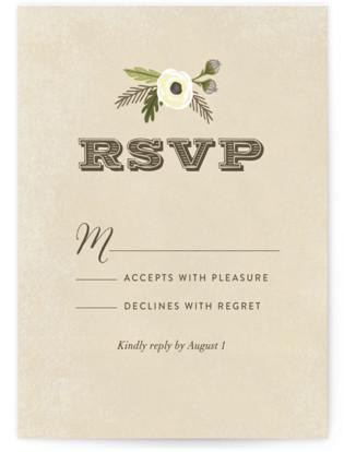 Boheme RSVP Cards