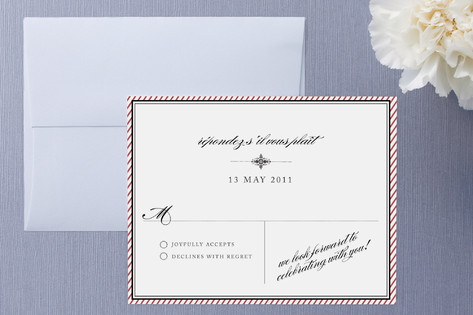 Apothecary RSVP Cards