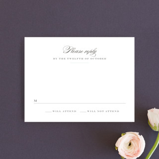 Charming Go Lightly RSVP Cards