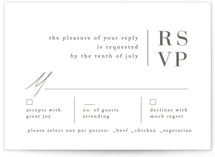 Stacked date RSVP Cards