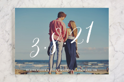 Big Day Save the Date Cards