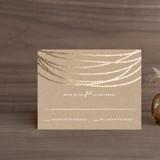 Foil-Pressed RSVP Cards