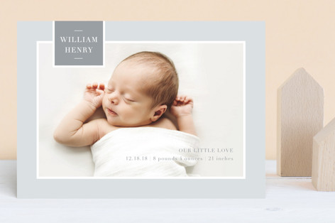 Tag Love Birth Announcements