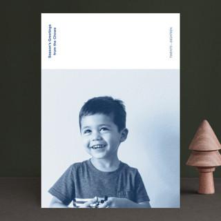 Newsprint Holiday Photo Cards