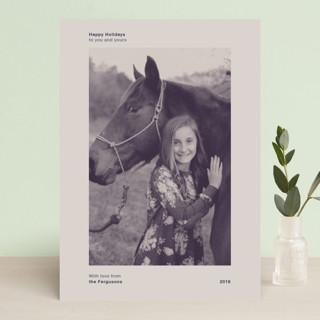 Zine Holiday Photo Cards