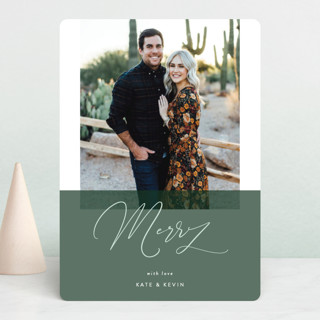 To Be Merry Holiday Photo Cards